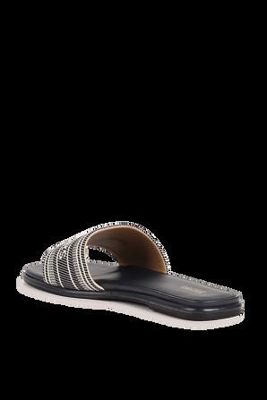Sadler Sandals in Navy MICHAEL KORS