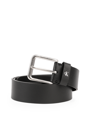 Rounded Classic Belt In Black CALVIN KLEIN