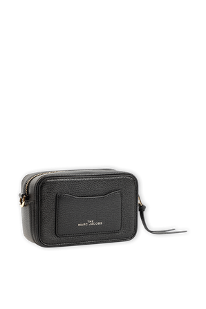 The Softshot in Black and White Leather MARC JACOBS