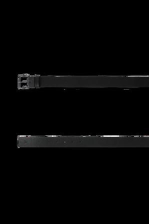 חגורה קלאסית מעור בצבע שחור CALVIN KLEIN