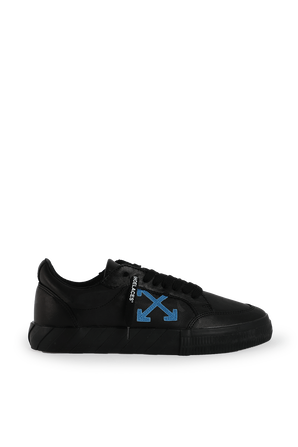 Low Vulcanized Sneakers in Black OFF WHITE