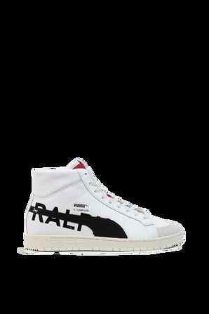 Ralph Sampson 70 High Draft Sneakers In White PUMA