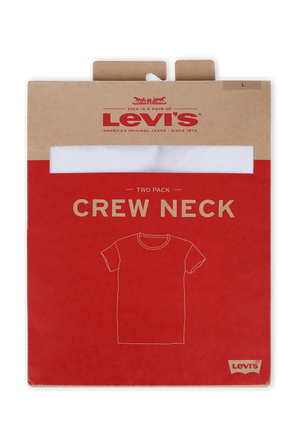 2 Pack Crew Tee in White LEVI`S