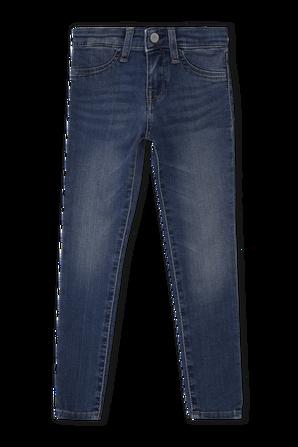 גילאי 5-6 מכנסי דנים סטרץ בגזרה גבוהה POLO RALPH LAUREN KIDS