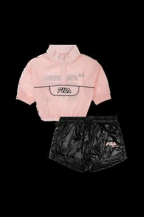 סט טופ ומכנס קצר נערות FILA
