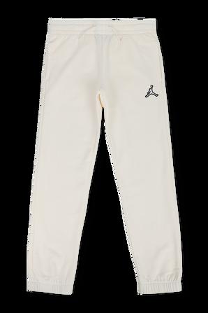 גילאי 8-16 מכנסי טרנינג ארוכים עם לוגו בגוון ניוד JORDAN