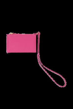 Le porte Pichoto Mini Pouch in Pink JACQUEMUS