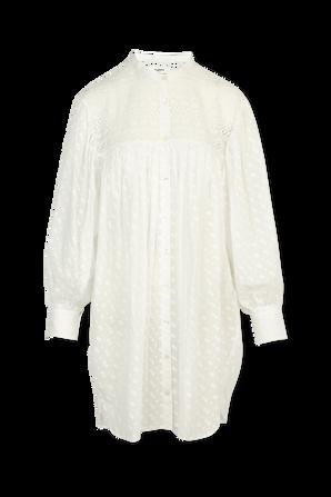 Tilalia Shirt Dress In White ISABEL MARANT