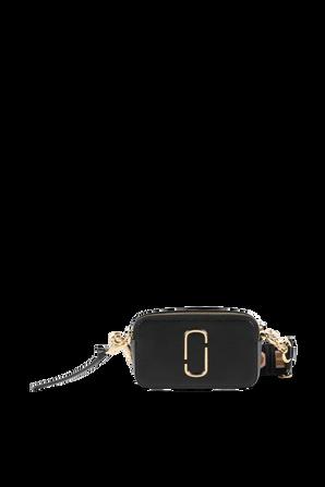 The Logo Strap Snapshot SM Camera Bag in Black MARC JACOBS