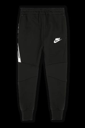 גילאי 7-16 מכנסי טק בצבע שחור NIKE