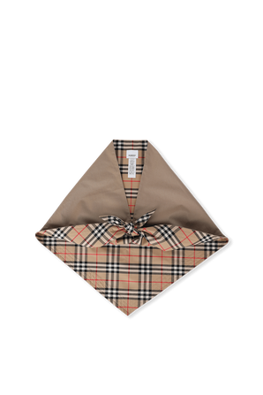 Plaid Classic Scarf in Brown BURBERRY