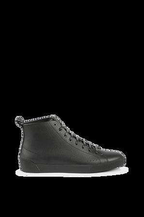 Zero High Top Sneakers in Black HUGO