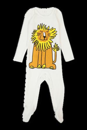 גילאי 3-18 חודשים סט אוברול וסינר אריה STELLA McCARTNEY KIDS