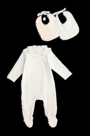 גילאי 1-18 חודשים מארז אוברול וסינרים CHLOE KIDS