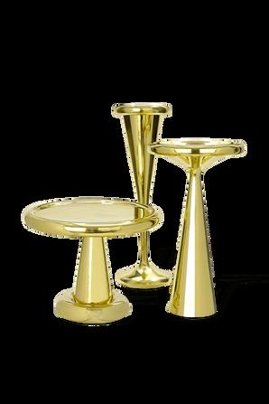 Spun Table -Tall Brass TOM DIXON