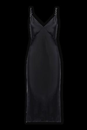 Issa Dress in Jet Black Core OLIVIA VON HALLE
