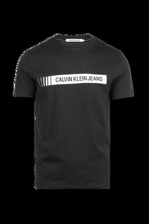 Logo Box Tshirt in Black CALVIN KLEIN