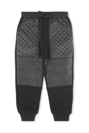 גילאי 3-14 מכנסיים בתיפורי מונוגרמה BURBERRY