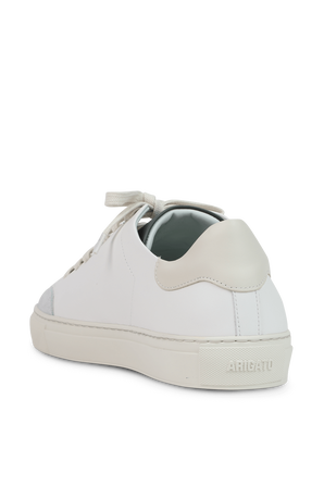 Clean 90 Taped Bird Sneakers in White and Cream AXEL ARIGATO