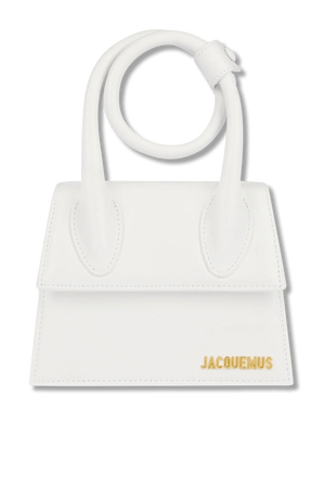 Small Le Chiquito Noeud in White JACQUEMUS
