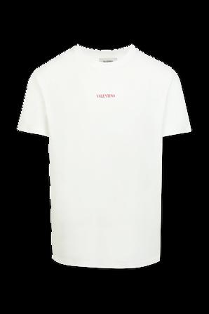 Valentino Classic Tshirt in White VALENTINO