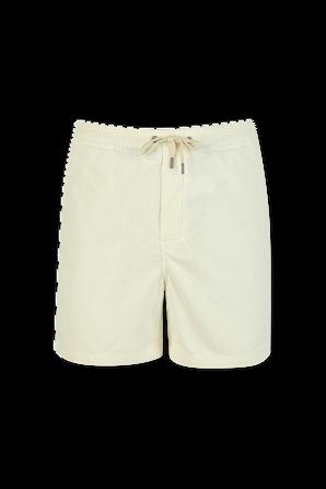 Drawstring Corduroy Shorts in White POLO RALPH LAUREN