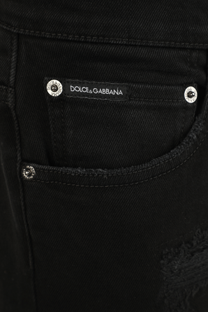 Skinny Stretch Jeans in Black Wash DOLCE & GABBANA