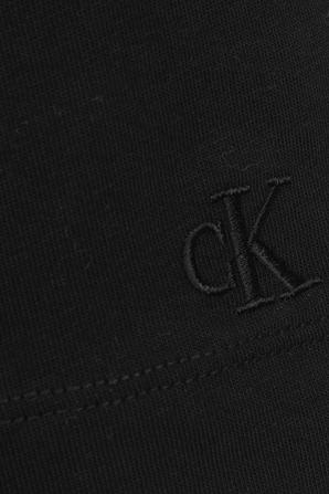 Iridescent Logo T-Shirt In Black CALVIN KLEIN
