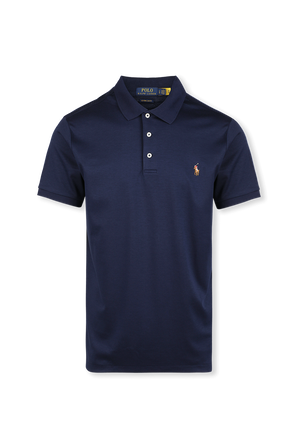 Slim Fit Polo Shirt in Navy POLO RALPH LAUREN