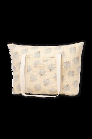 Paris Gatsby Maternity Bag in Cream NOBODINOZ