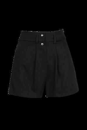 Axwell Pleated Shorts In Black IRO