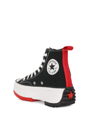 Converse X Keith Haring Run Star Hike in Black CONVERSE