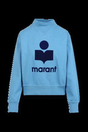 Moby Marant Sweatshirt in Blue ISABEL MARANT