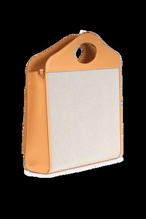 Medium Two-Tone Pocket Bag BURBERRY