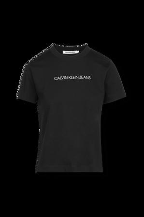 Timeless Logo Tshirt in Black CALVIN KLEIN