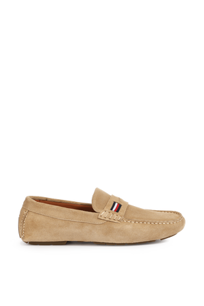 Iconic Suede moccasin shoes TOMMY HILFIGER