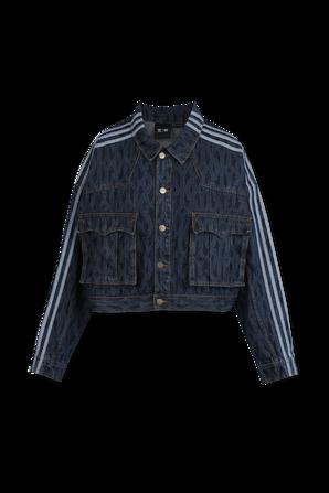 Ivy Park x Adidas Denim Jacket in Indigo ADIDAS ORIGINALS