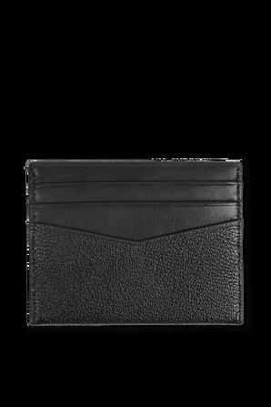 Black Leather Cardholder CALVIN KLEIN