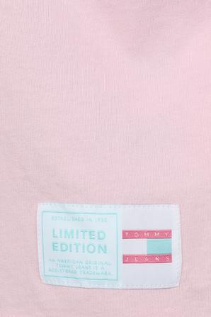 Flag T-Shirt in Pastel Pink TOMMY HILFIGER