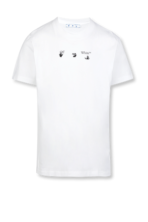 Slim Fit Logo Tee in White OFF WHITE