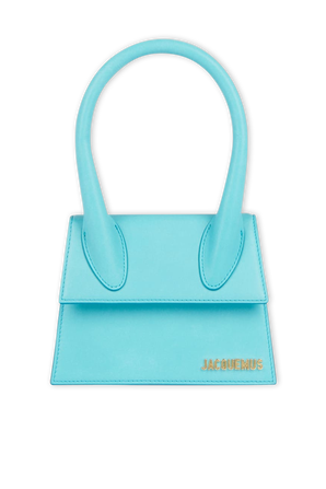 Le Chiquito Moyen in Turquoise JACQUEMUS