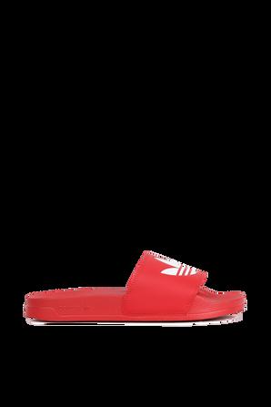 Red Slides ADIDAS ORIGINALS