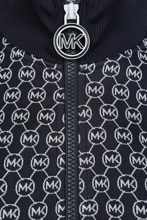Monogram Logo Jacket in Dark Blue MICHAEL KORS