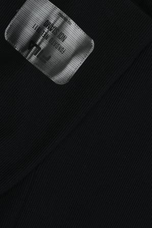 גילאי 6-16 מכנסי טייץ קצרים בצבע שחור FILA