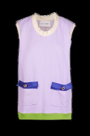 Organic Cotton Top in Purple AZ FACTORY