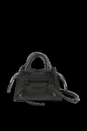 Neo Classic Top Handle Bag in Black BALENCIAGA