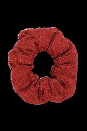 Scrunchie in Chestnut HUNZA G