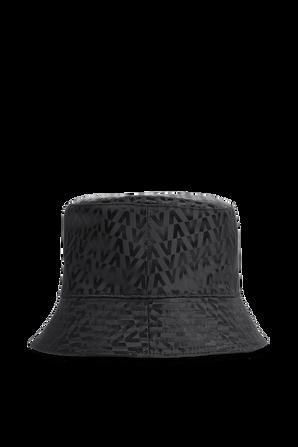 כובע באקט בצבע שחור VALENTINO