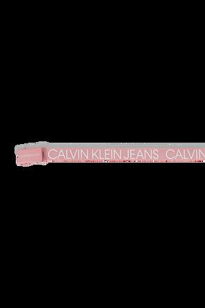 חגורת לוגו בוורוד CALVIN KLEIN