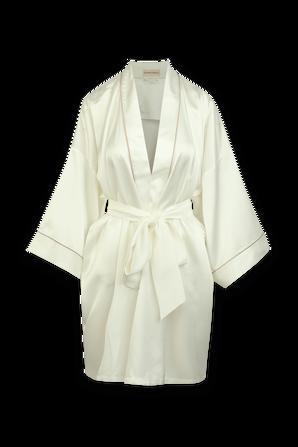 Mimi Ivory Silk Kimono OLIVIA VON HALLE